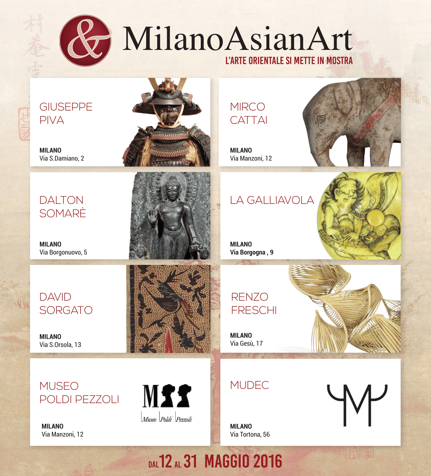 Milano Asian Art - La Galliavola