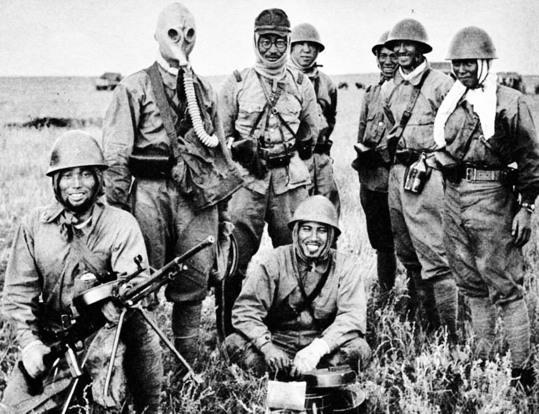 Soldati giapponesi sul fronte di Nomonhan, 1939