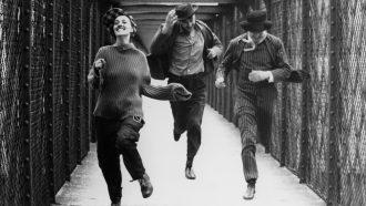 Fotogramma di Jules e Jim diretto da François Truffaut (1962)