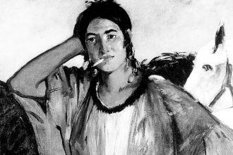 Gitana con sigaretta di Edouard Manet (1862)