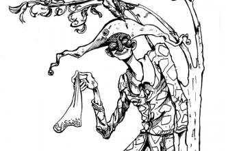 Arlecchino - Disegno copertina