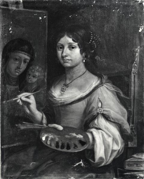 Lucrezia Scarfaglia, Autoritratto, Roma, Galleria Pallavicini