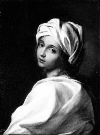 Sibilla, figura femminile inturbantata di Ginevra Cantofoli (1650 circa)