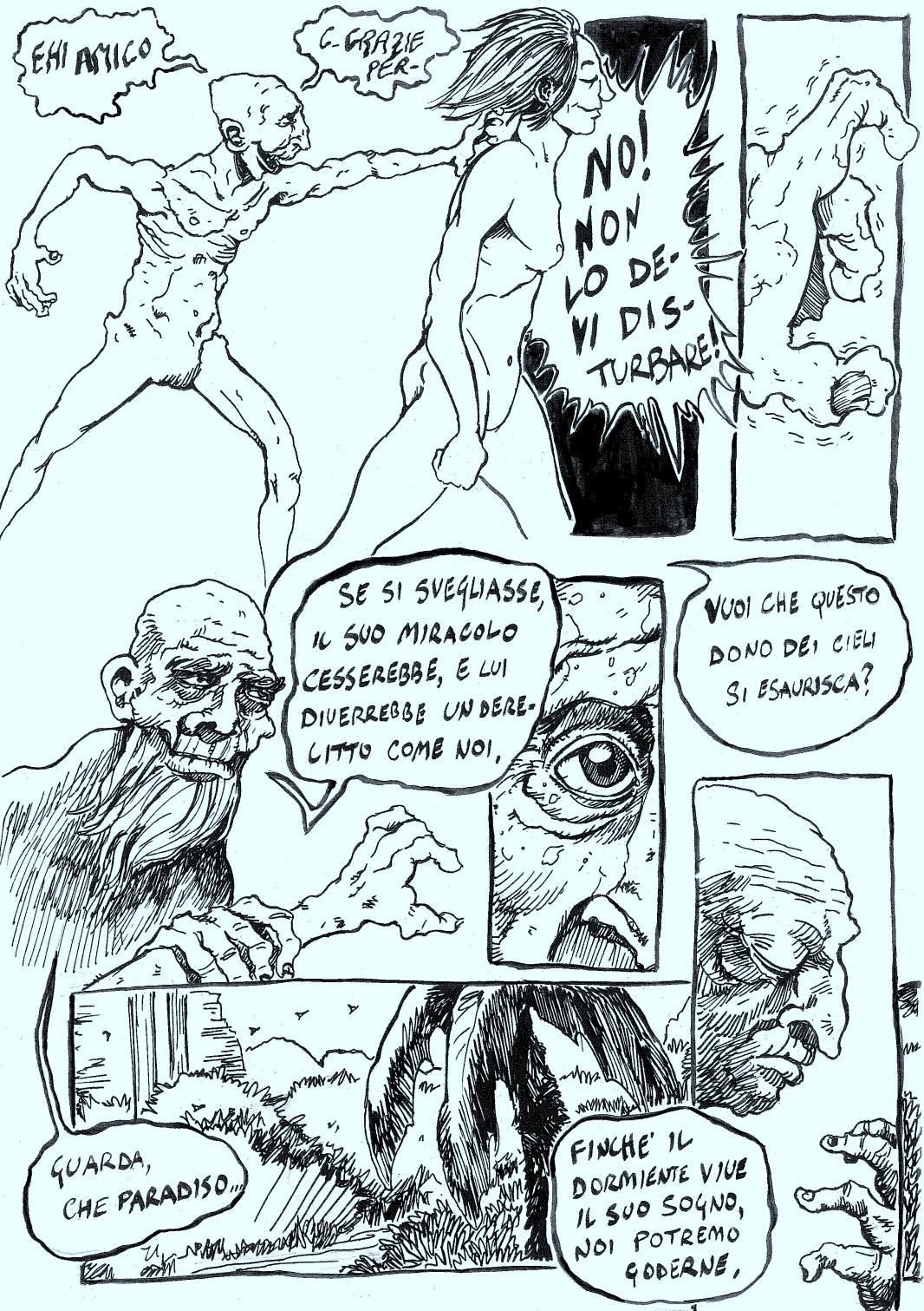 Pietro Tedeschi Il dormiente La Tigre di Carta 12-3