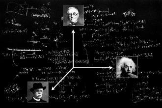 Tullio Levi-Civita Albert Einstein Gregorio Ricci Curbastro