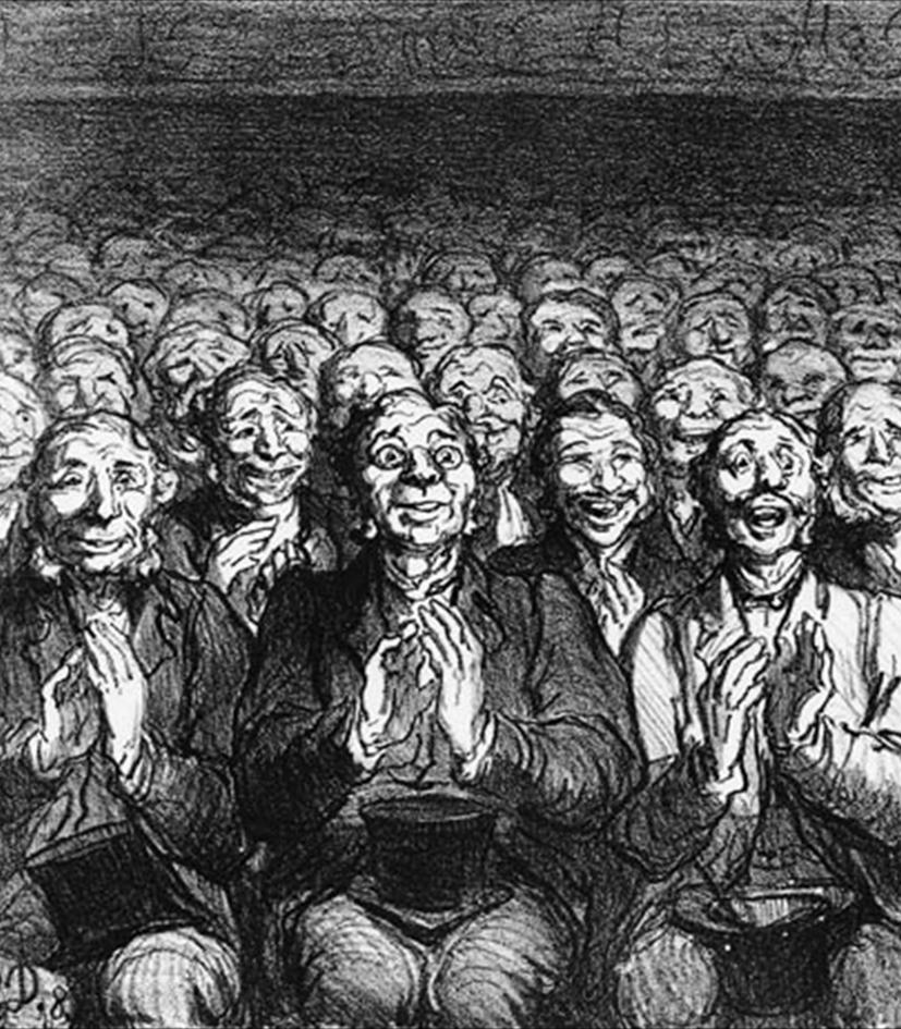 Honoré Daumier, Si dice che i Parigini_cut [anna lav]