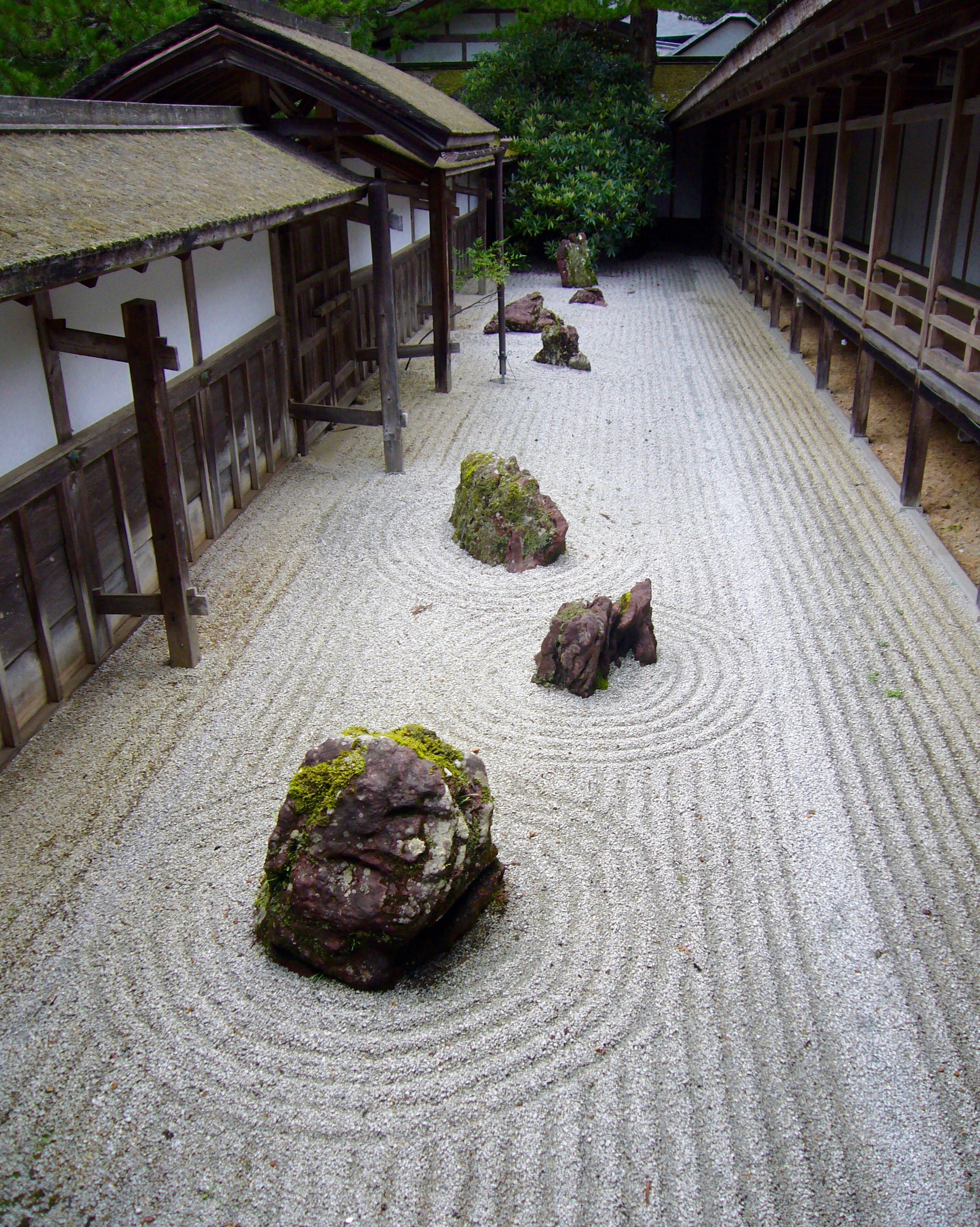 Giardino zen del tempio di Ryoanji (Kyoto)
