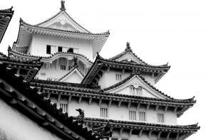 Castello medioevale di Himeji a Hyōgo. Foto di Claudio Zanini