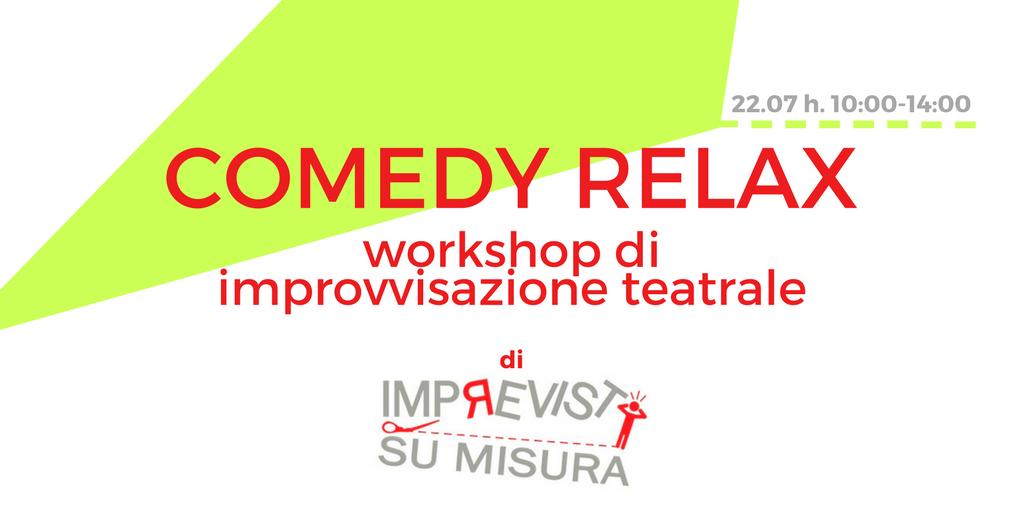 workshop improvvisazione teatrale
