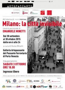 3 Ottobre: Milano città invisibile
