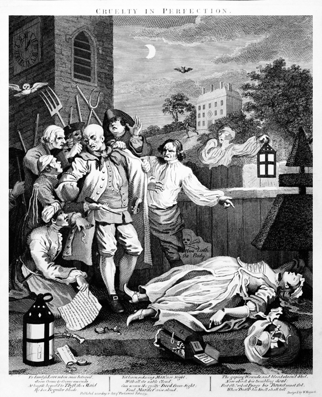 Hogarth - Terzo stadio della crudeltà