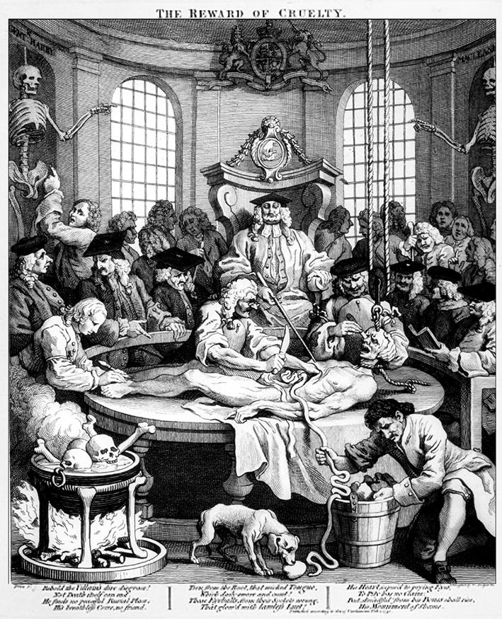 Hogarth - Quarto stadio della crudeltà