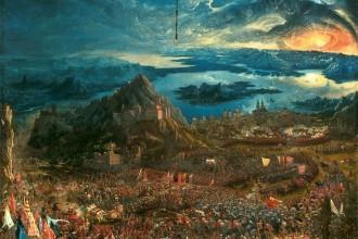 Albrecht Altdorfer, La battaglia di Isso