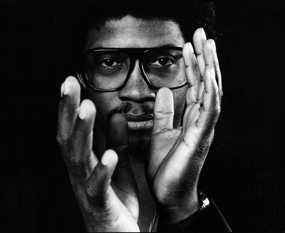Hancock fotografato da Bonnie Schiffman, 1987