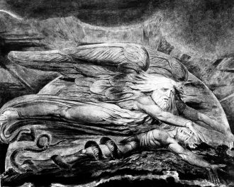 Elohim crea Adamo_William Blake ( 1795 ) [ anna lav ]