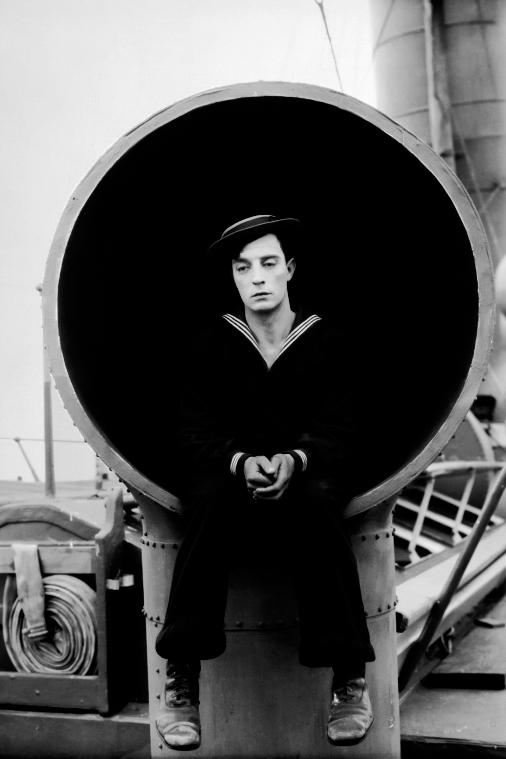 Fotogramma dal film The Navigator di e con Buster Keaton ( 1924 )
