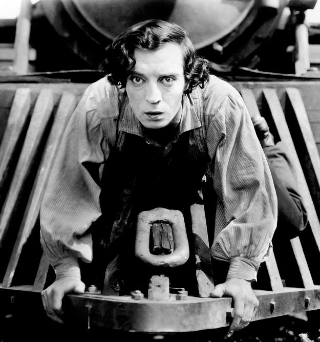 Fotogramma di The General di e con Buster Keaton ( 1926 )