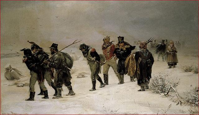 Ritirata dell' esercito francese (1812) Illarion Pryanichnikov [ anna lav ].