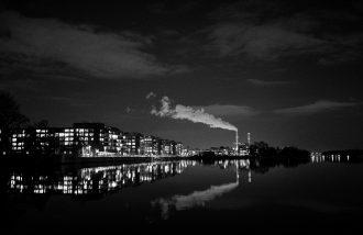 Winter Night City (Berlin) by Matthias Ripp