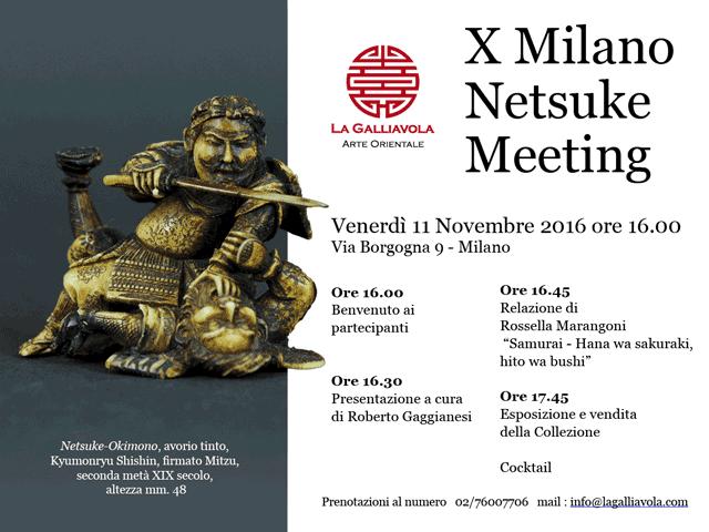 X Milano Netsuke Meeting