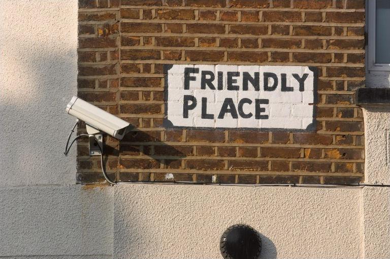 Privacy CCTV Friendly Place