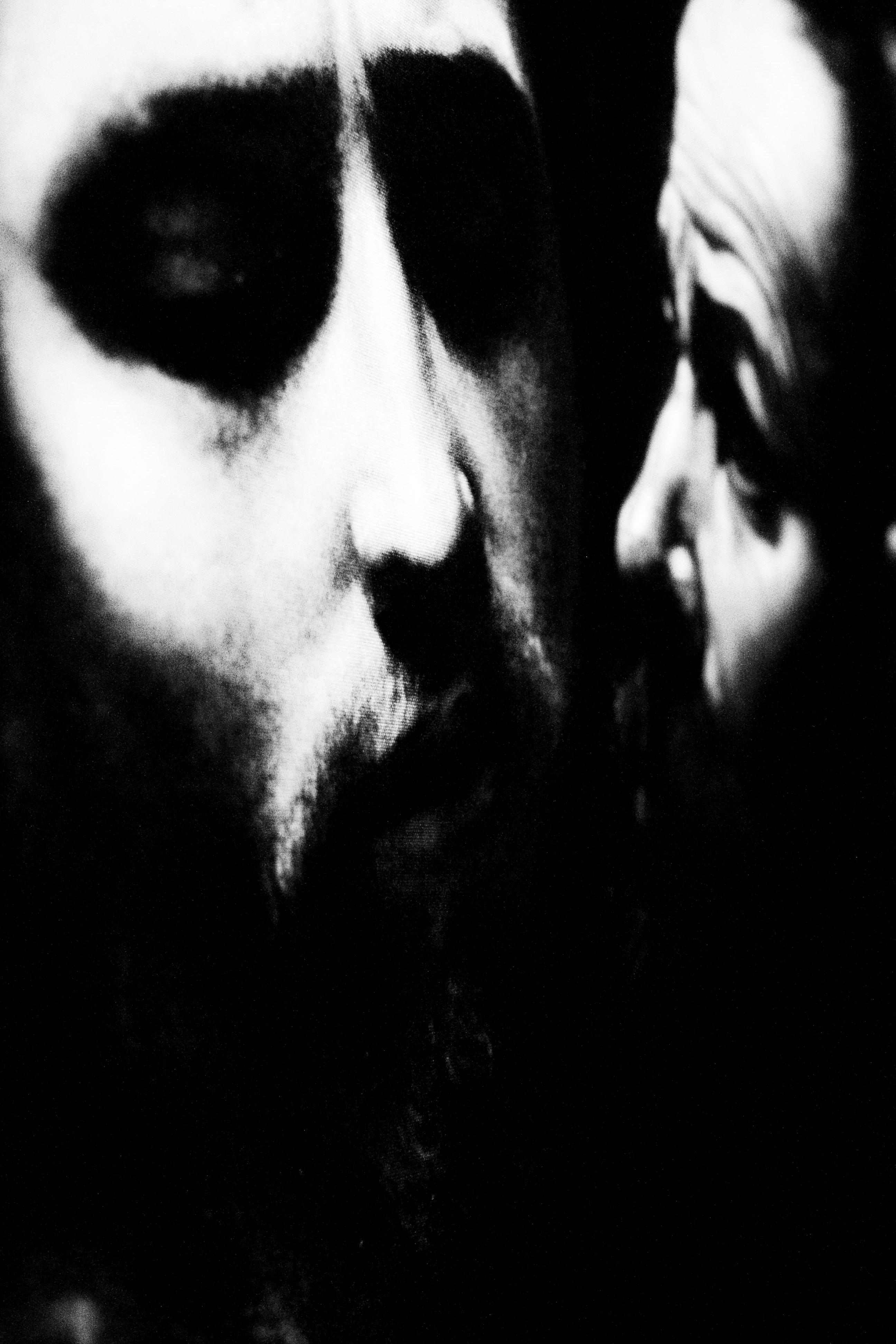 La cattura di Cristo foto di Anna Laviosa dal progetto Cattura di Caravaggio ( 2011 )