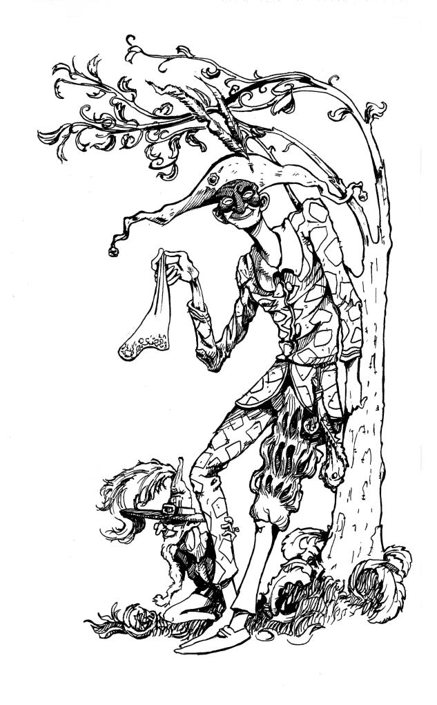 Alecchino trasformato dall'amore | Illustrazione di Pietro Tedeschi