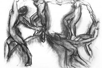 Henri Matisse, La Danza - Disegno preparatorio (1910)