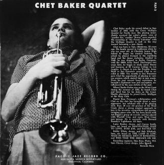 Chet Baker Quartet registrato presso Gold Star Studios, Los Angeles 1953