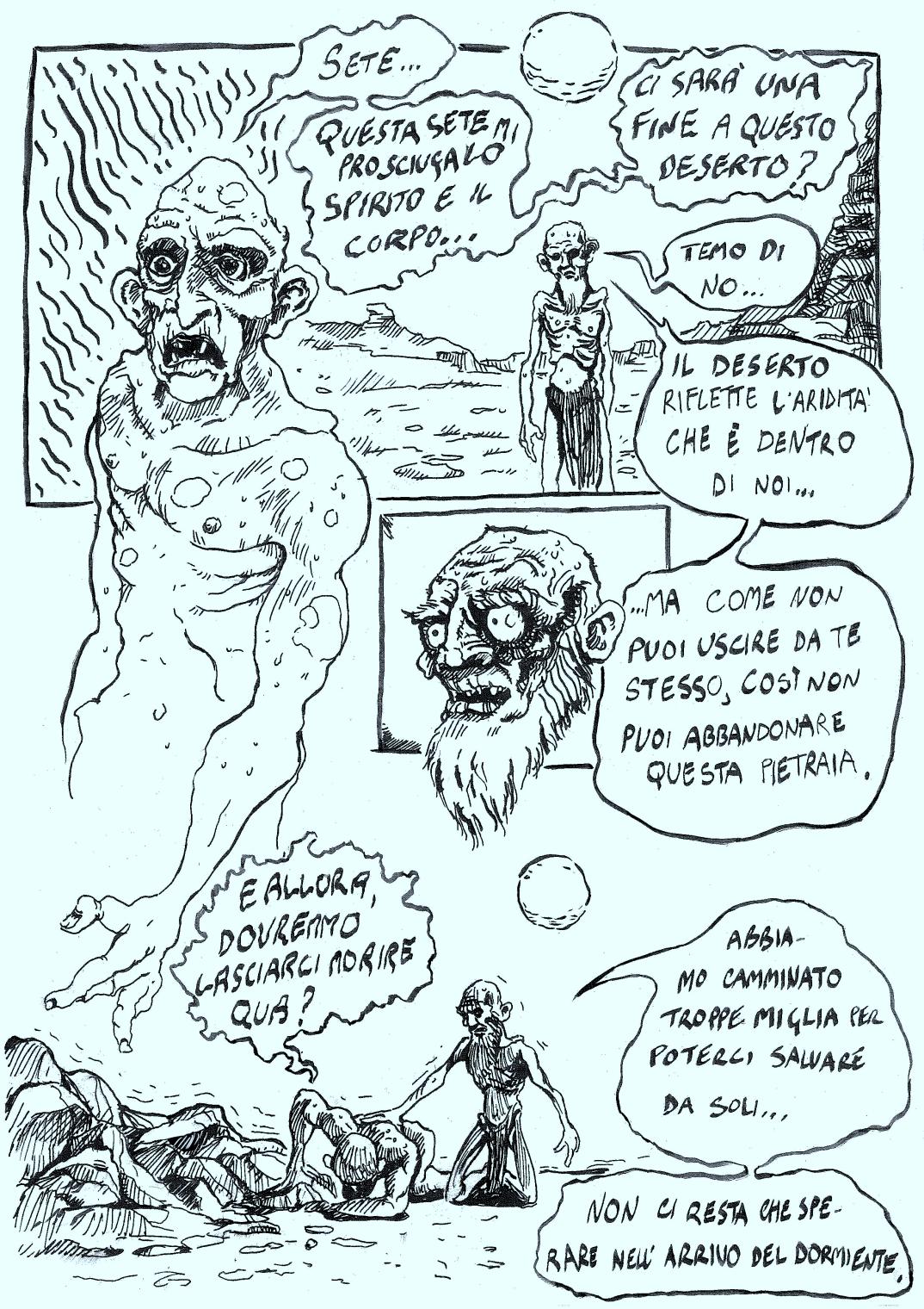 Pietro Tedeschi Il dormiente La Tigre di Carta 12-1