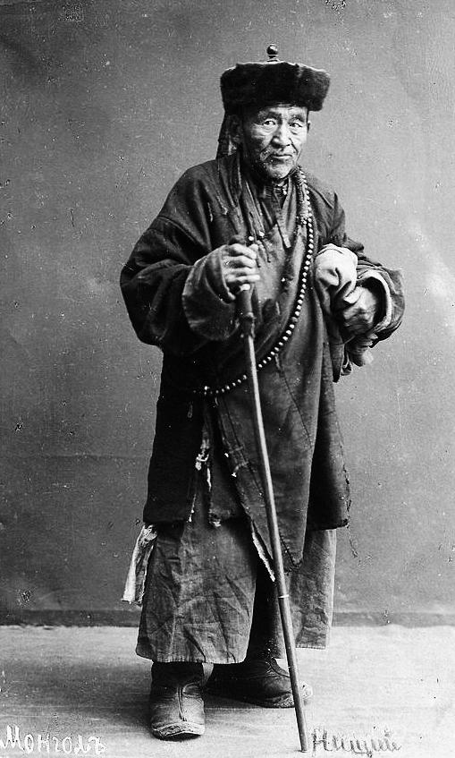 Pastore mongolo, fotografia 1920 ca.
