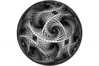 Fractal. Elaborazione grafica di Barbara Lane