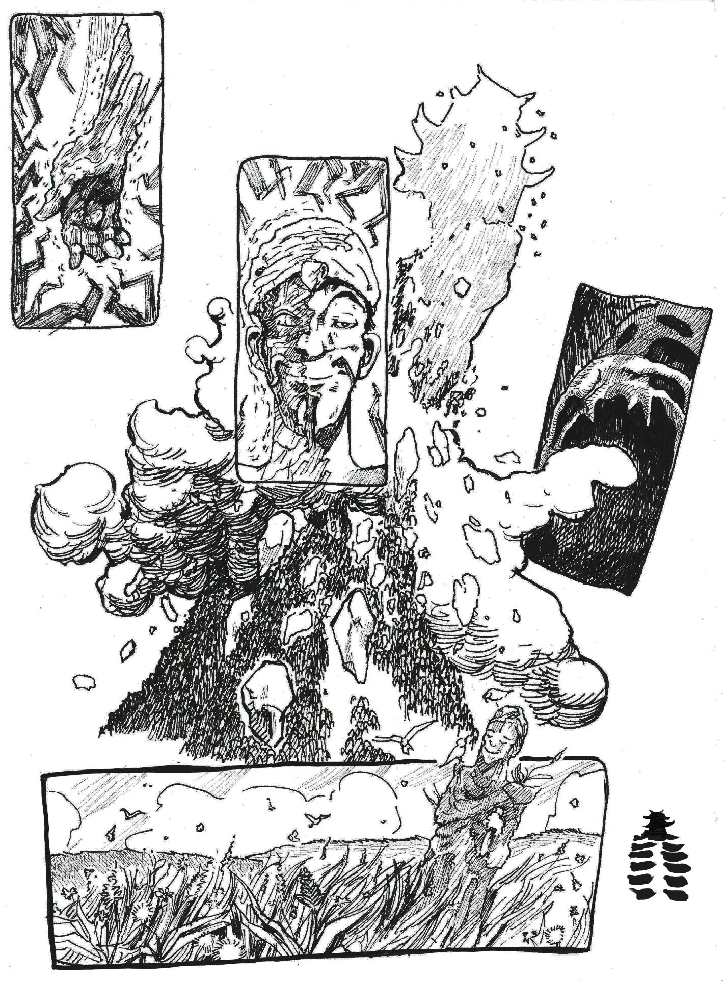 Fumetto Pietro Tedeschi Sgretolamento 2