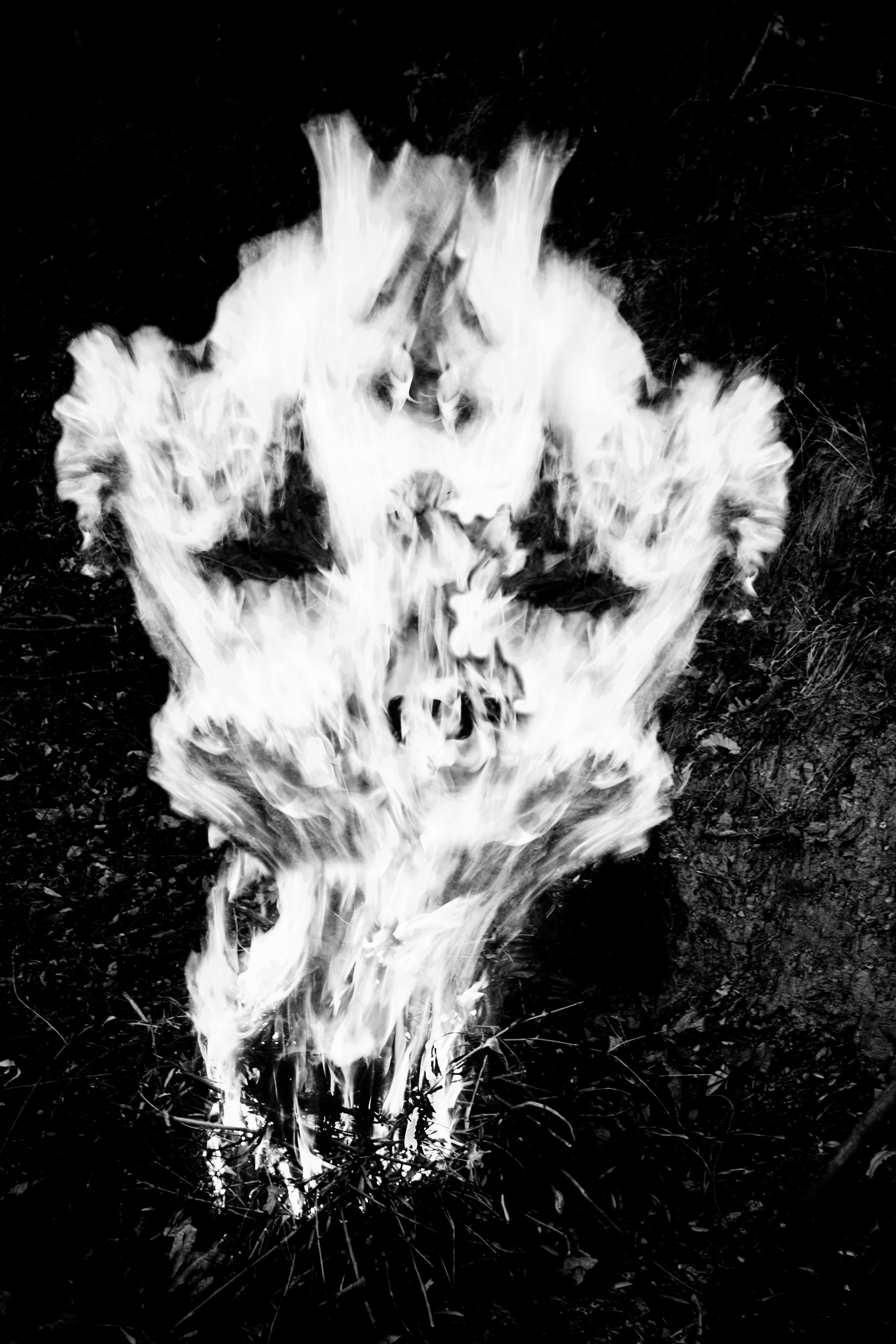 Skull on fire. Ph. Anna Laviosa 2013, tutti i diritti riservati