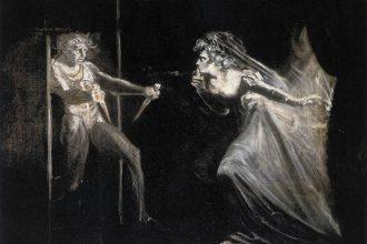 Johann Heinrich Füssli, 'Lady Macbeth riceve i pugnali', 1812