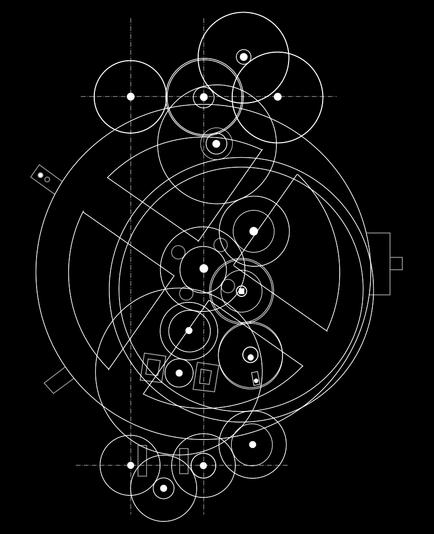 Meccanismo della macchina di Anticitera, il più antico calcolatore meccanico conosciuto (250-100 a.C.)