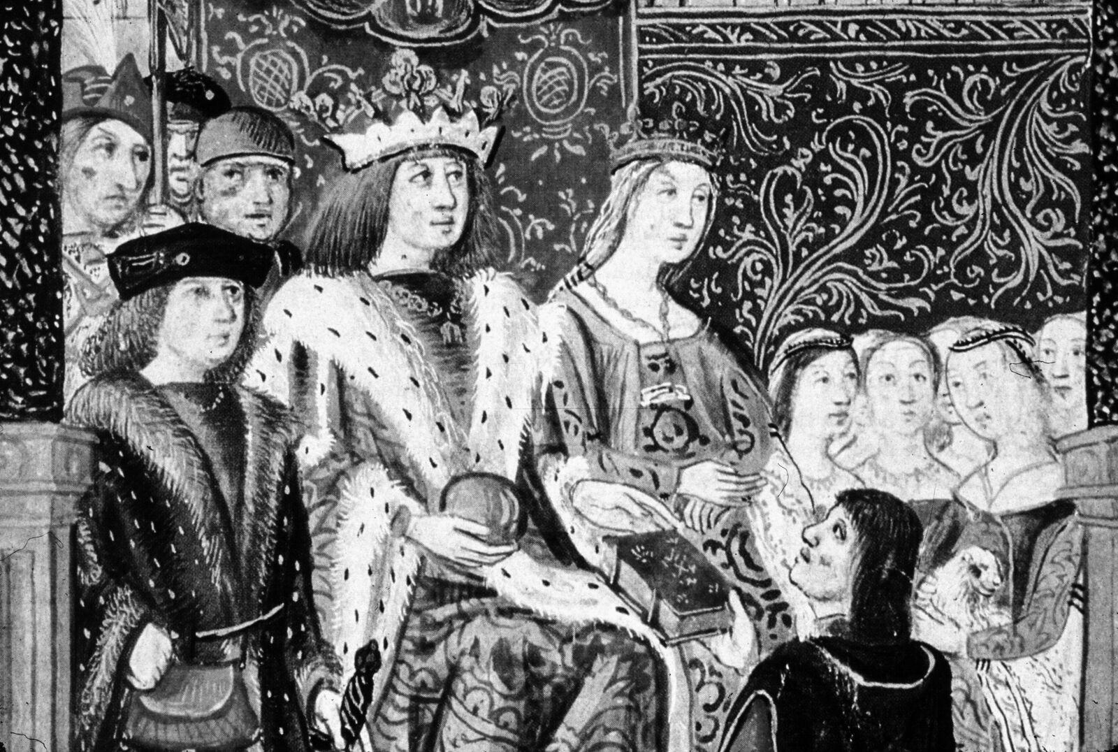 Isabella di Castiglia e Ferdinando d'Aragona, i sovrani cattolici (1469)