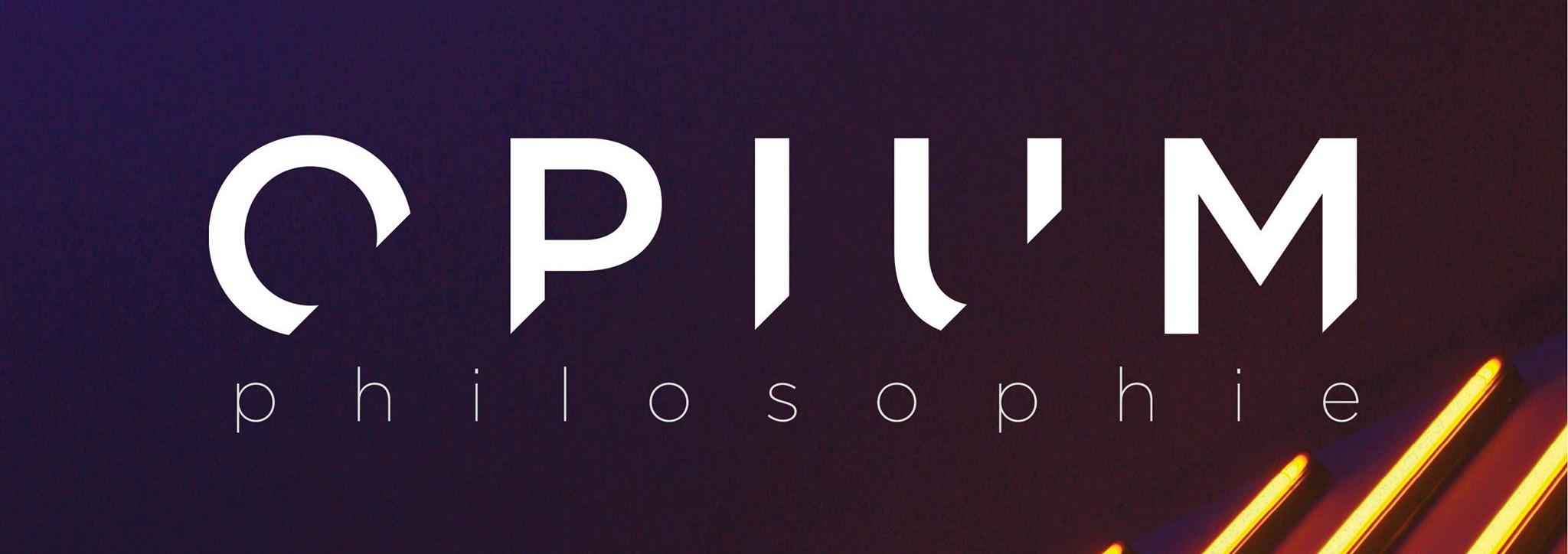 Opium philosophie cover