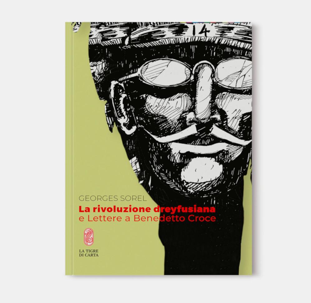 Sorel La rivoluzione dreyfusiana cover mockup verticale