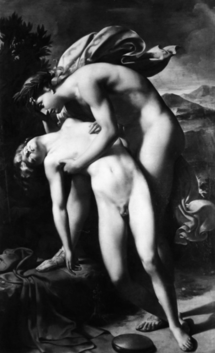 Morte di Giacinto | Merry-Joseph Blondel, Olio su tela, 1830.