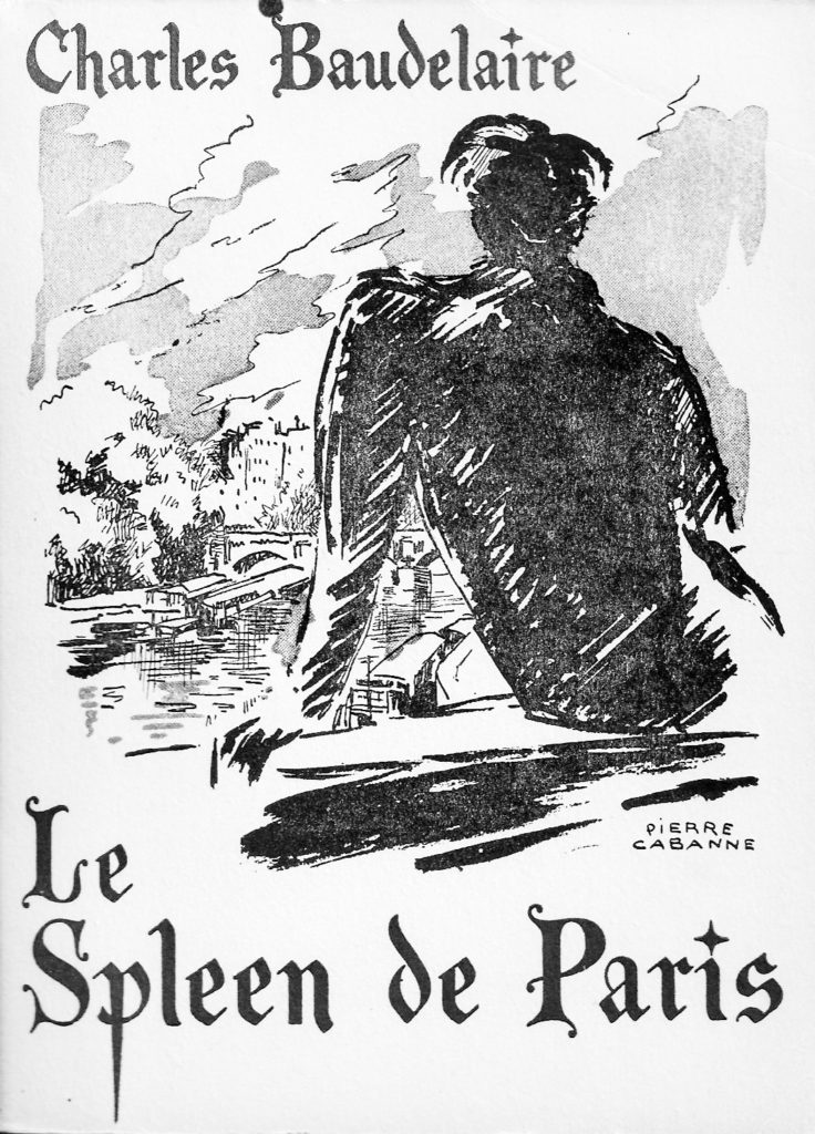 Le Spleen de Paris. Illustrazione di Pierre Cabanne