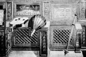 2_Studiolo_ Tarsio attribuito a Giuliano e Benedetto da Maiano Urbino, Palazzo Ducale 1473-1476