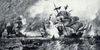 La sconfitta dell' Invincibile Armata al largo di Gravelines