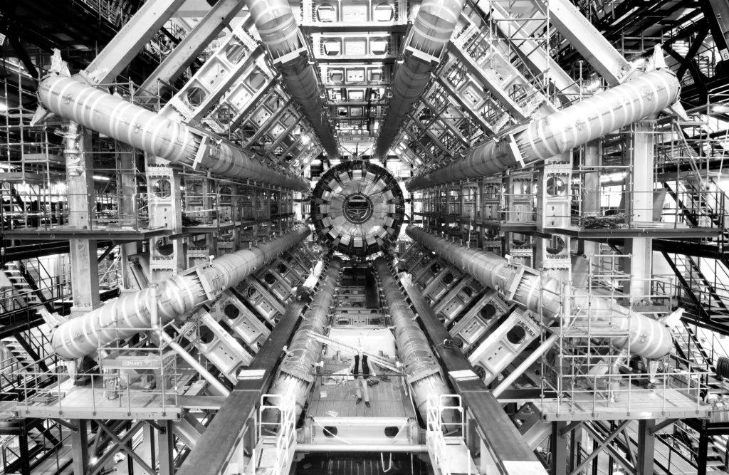 Esperimento ATLAS al CERN di Ginevra.
