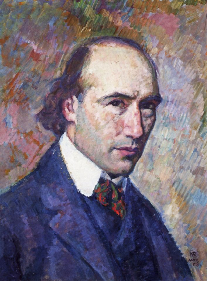 Ritratto di André Gide, Theo van Rysselberghe, 1908