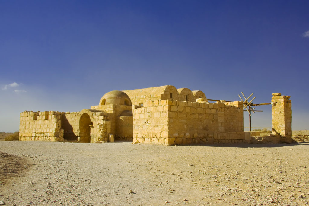 architetture del vento Giordania