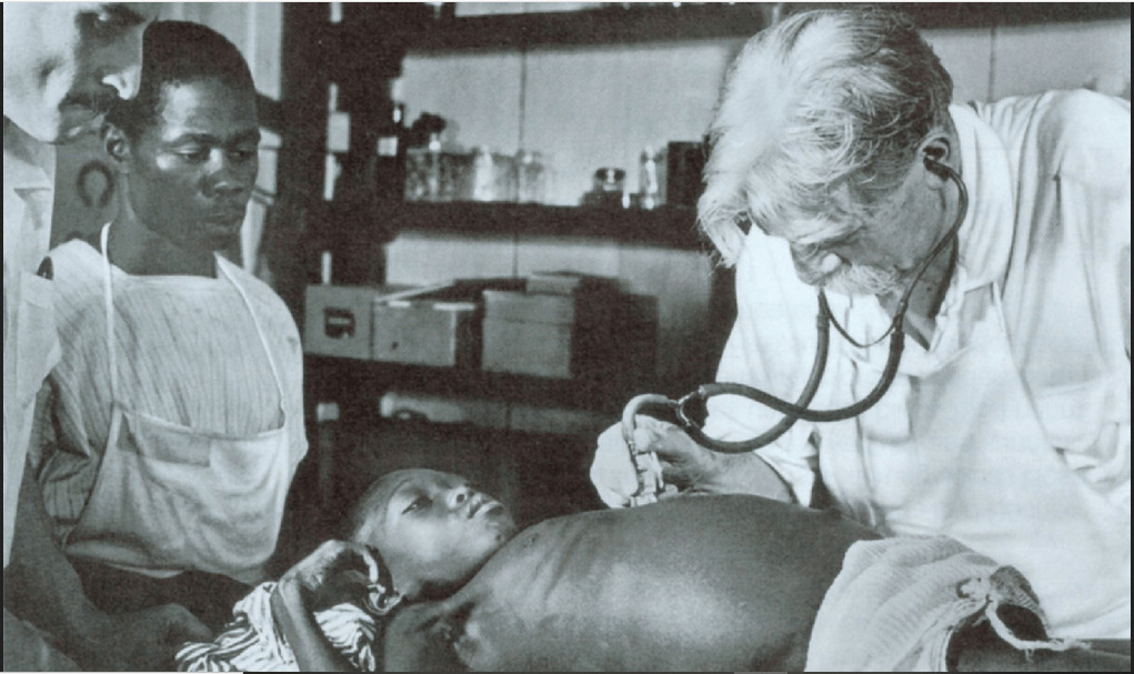 pandemia Albert Schweitzer