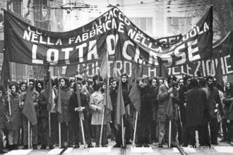 manifestazioni anni 70