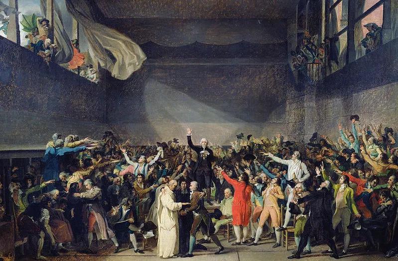 Stato Rivoluzione francese pallacorda