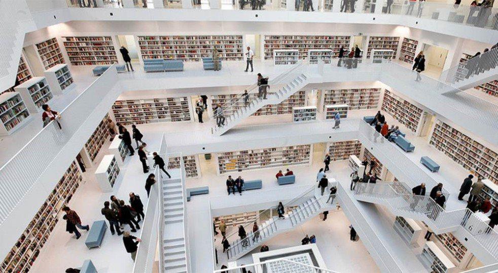 cultura biblioteca stoccarda